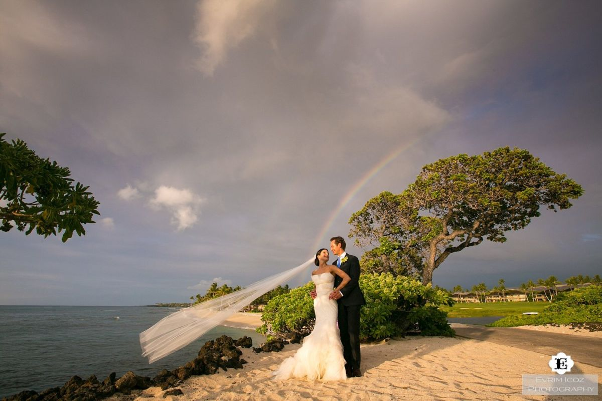 Four Seasons Big Island Resort Wedding