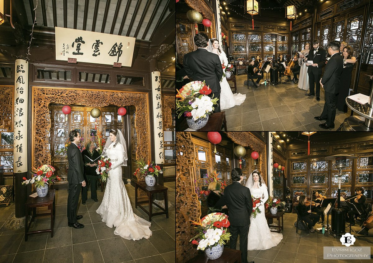 Lan Su Chinese Garden Wedding