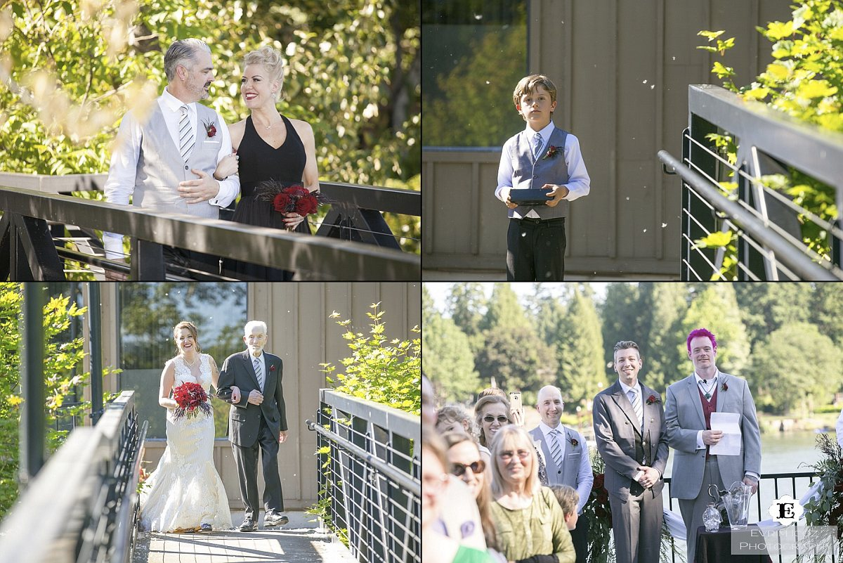 The Foundry at Lake Oswego Wedding