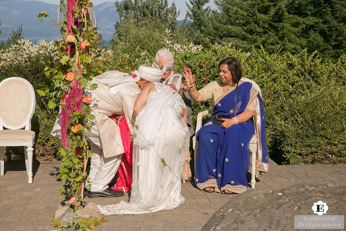 Indian Wedding at Skamania Lodge